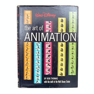 "1958 ""Walt Disney: The Art of Animation"" by Bob Thomas"