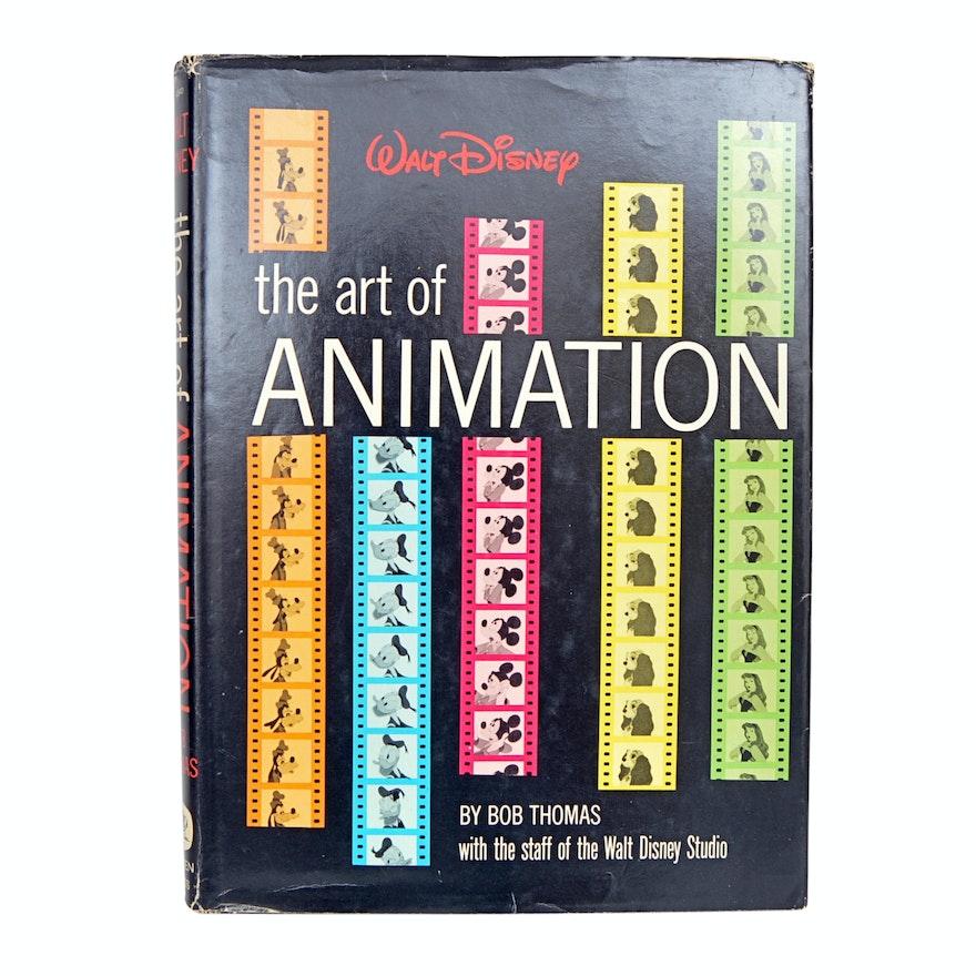 "1958 ""Walt Disney: The Art of Animation"" by Bob Thomas"