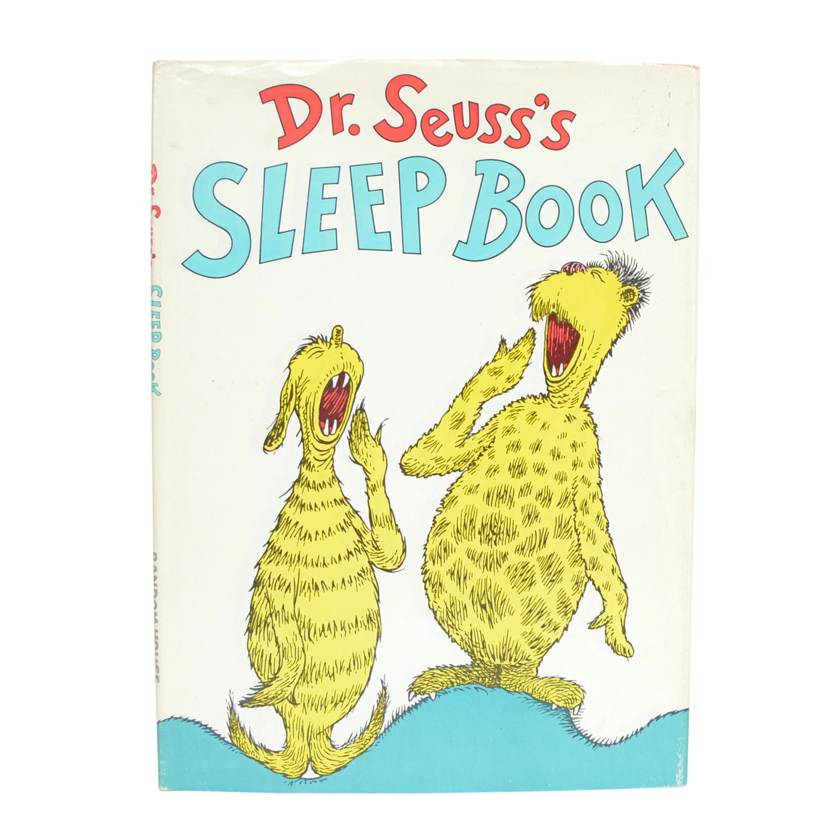 "1962 ""Dr. Seuss's Sleep Book"" with Dust Jacket"