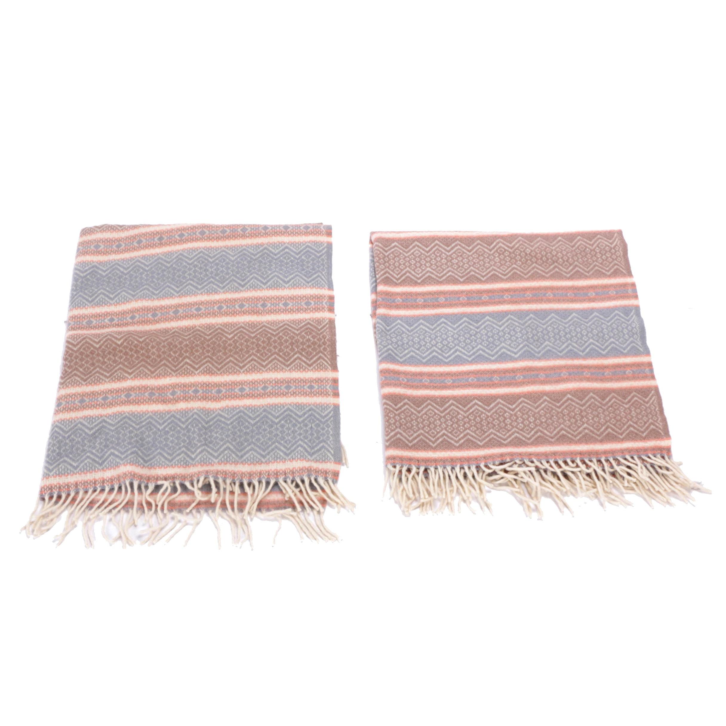 "Faribo ""Scandia"" Wool Blankets"