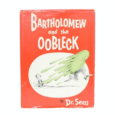 """1949 """"Bartholomew and the Oobleck"""" by Dr. Seuss"""