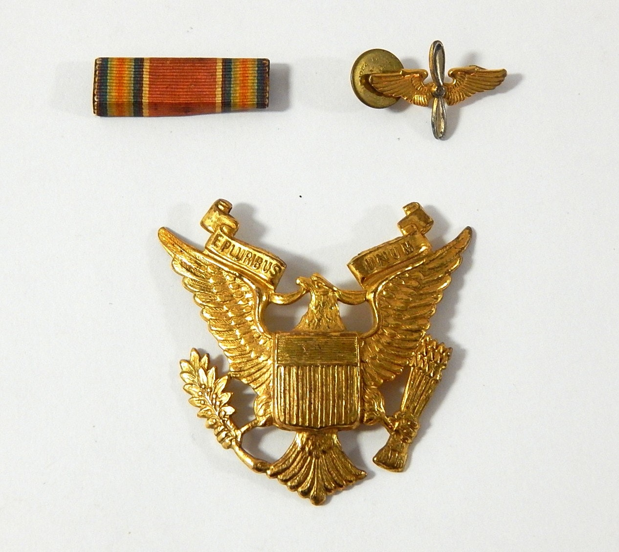 WWII Pins and Medals