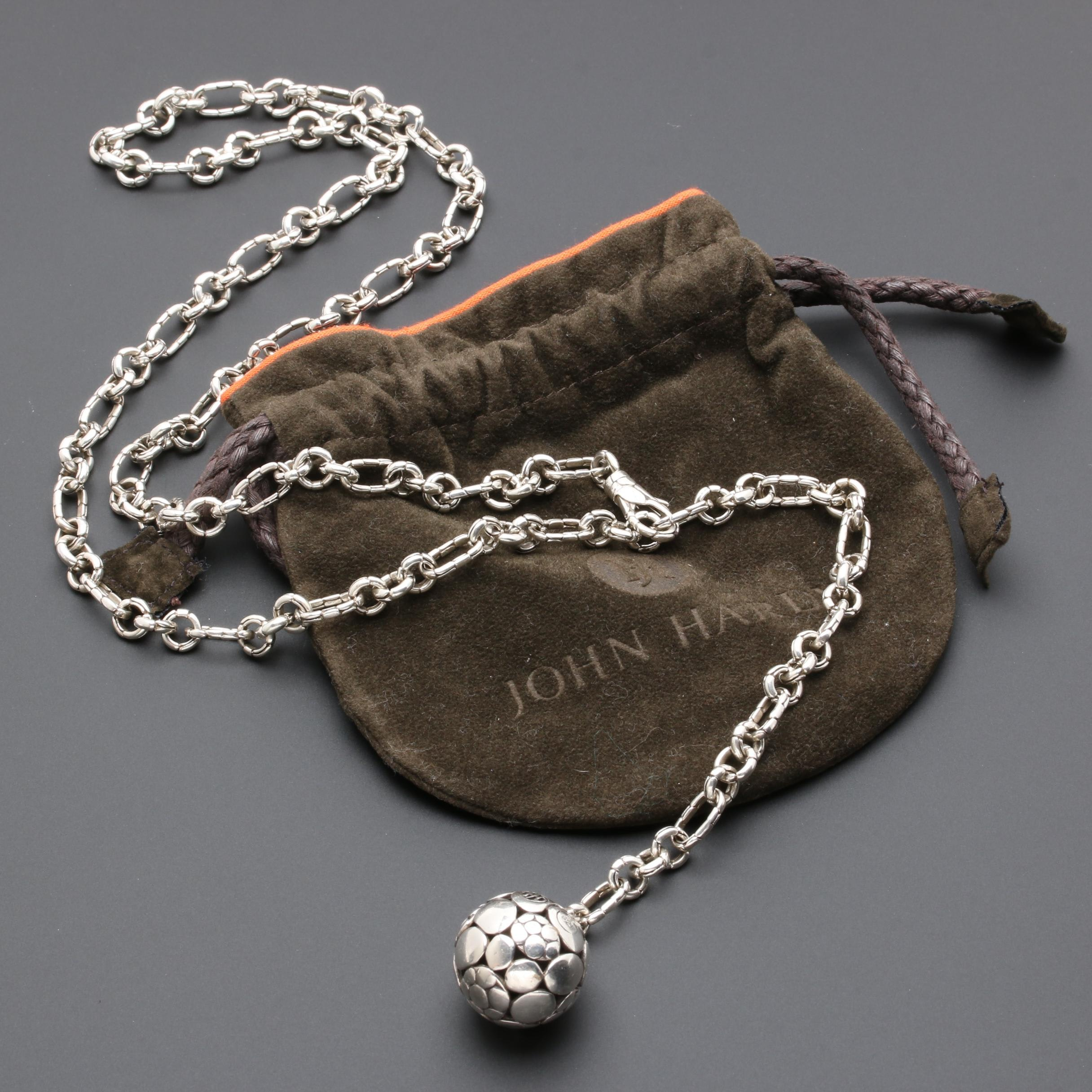 """John Hardy Sterling Silver """"Kali Collection"""" Necklace"""