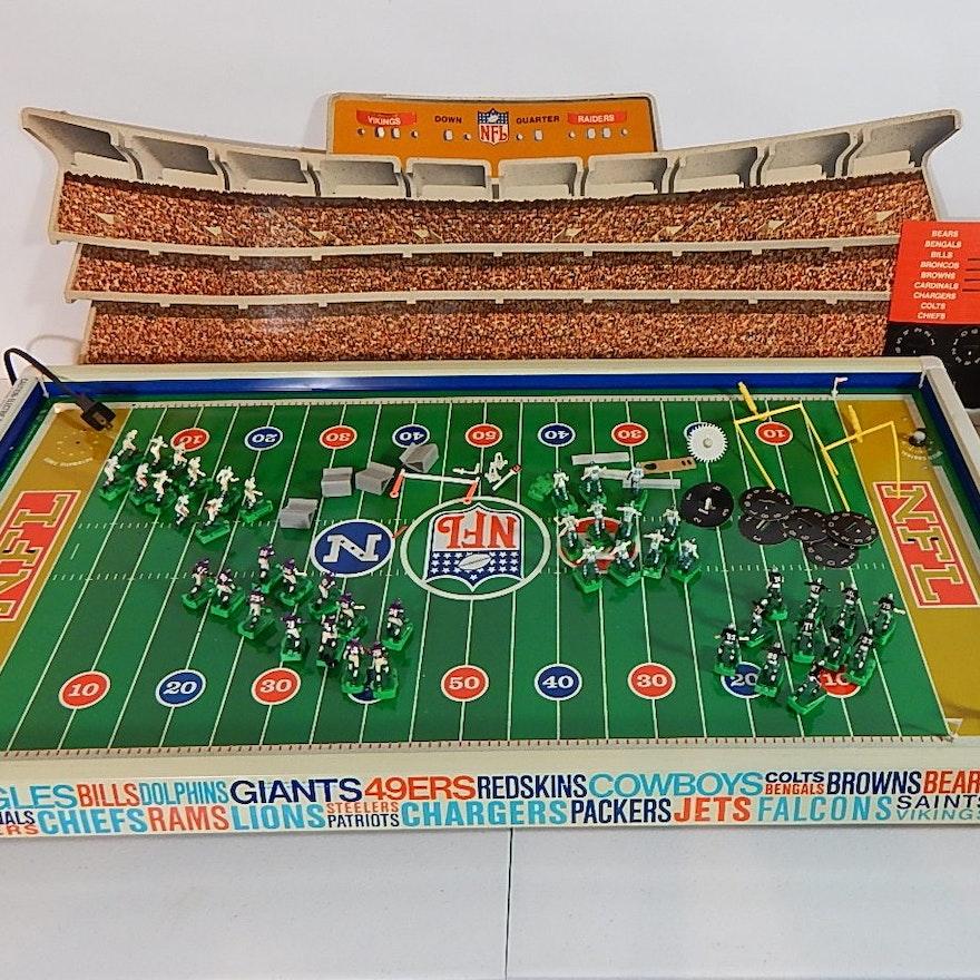 fc54bd64 Vintage Tudor Electric Football Game with Original Box - Superbowl Model :  EBTH