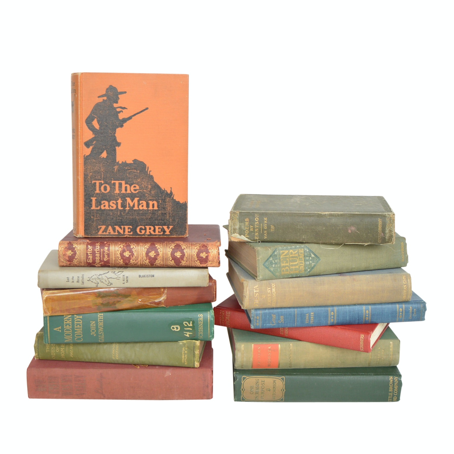 Vintage and Antique Classic Fiction Books with First Editions