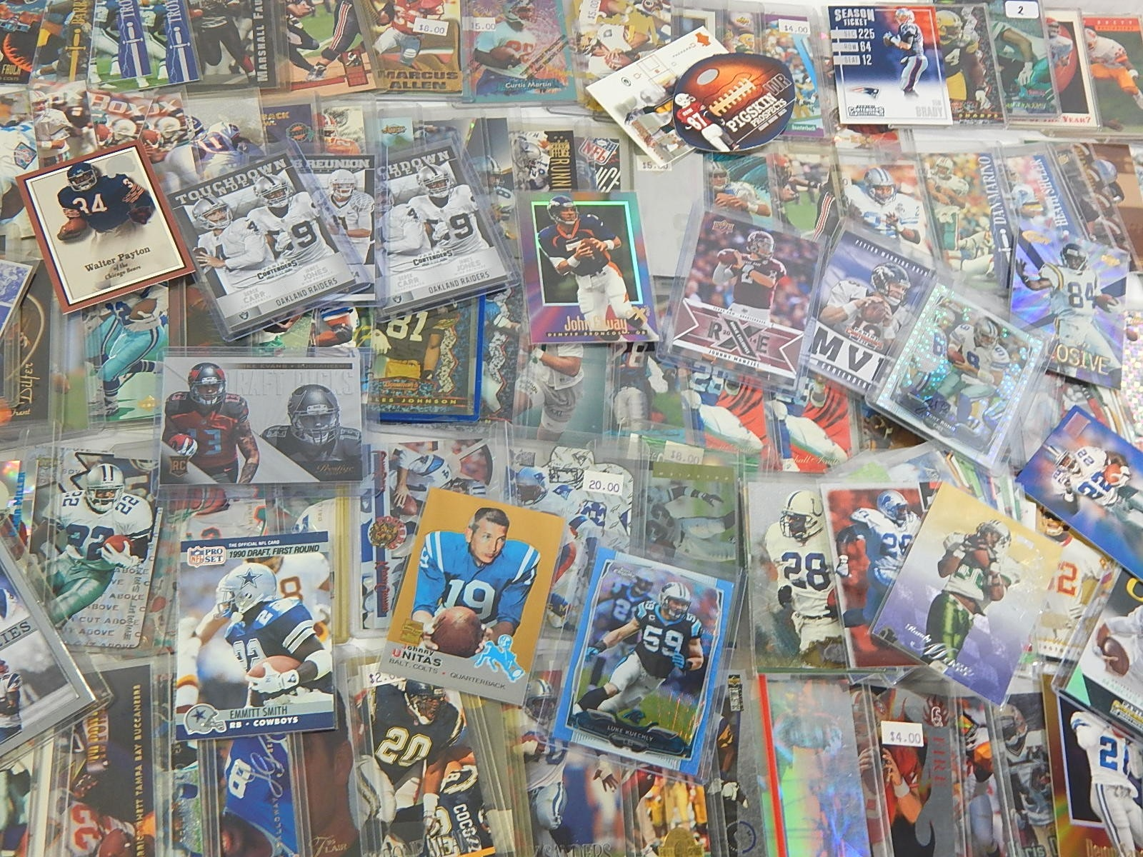Star and Rookie Football Card Collection