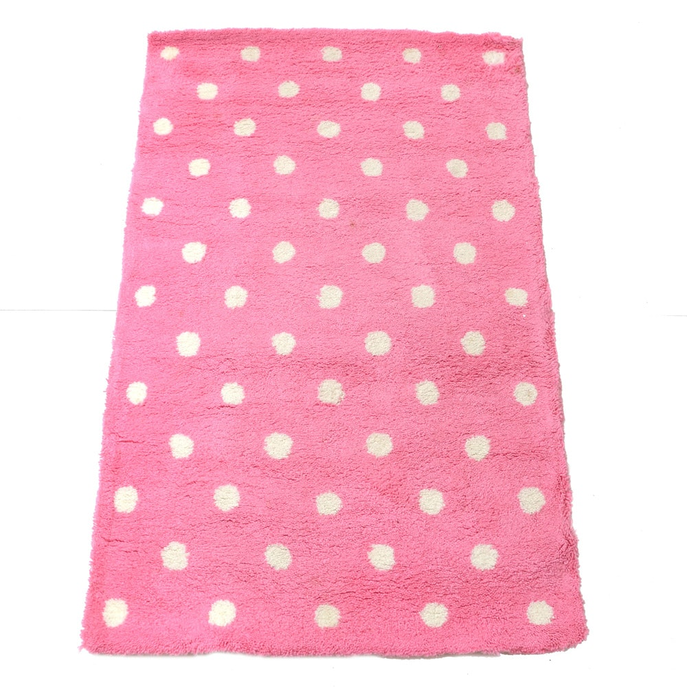 "PB Teen ""Dottie"" Area Rug in Pink"