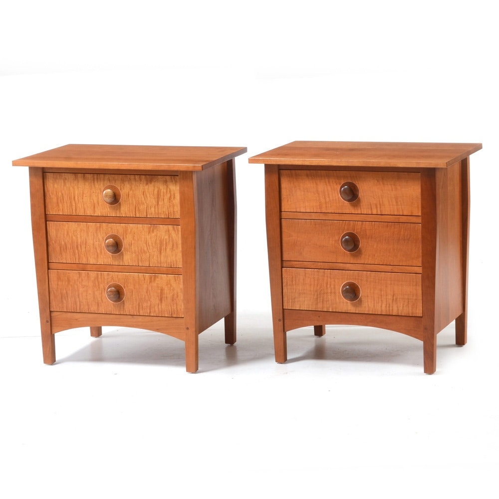 Pair of Stickley Nightstands