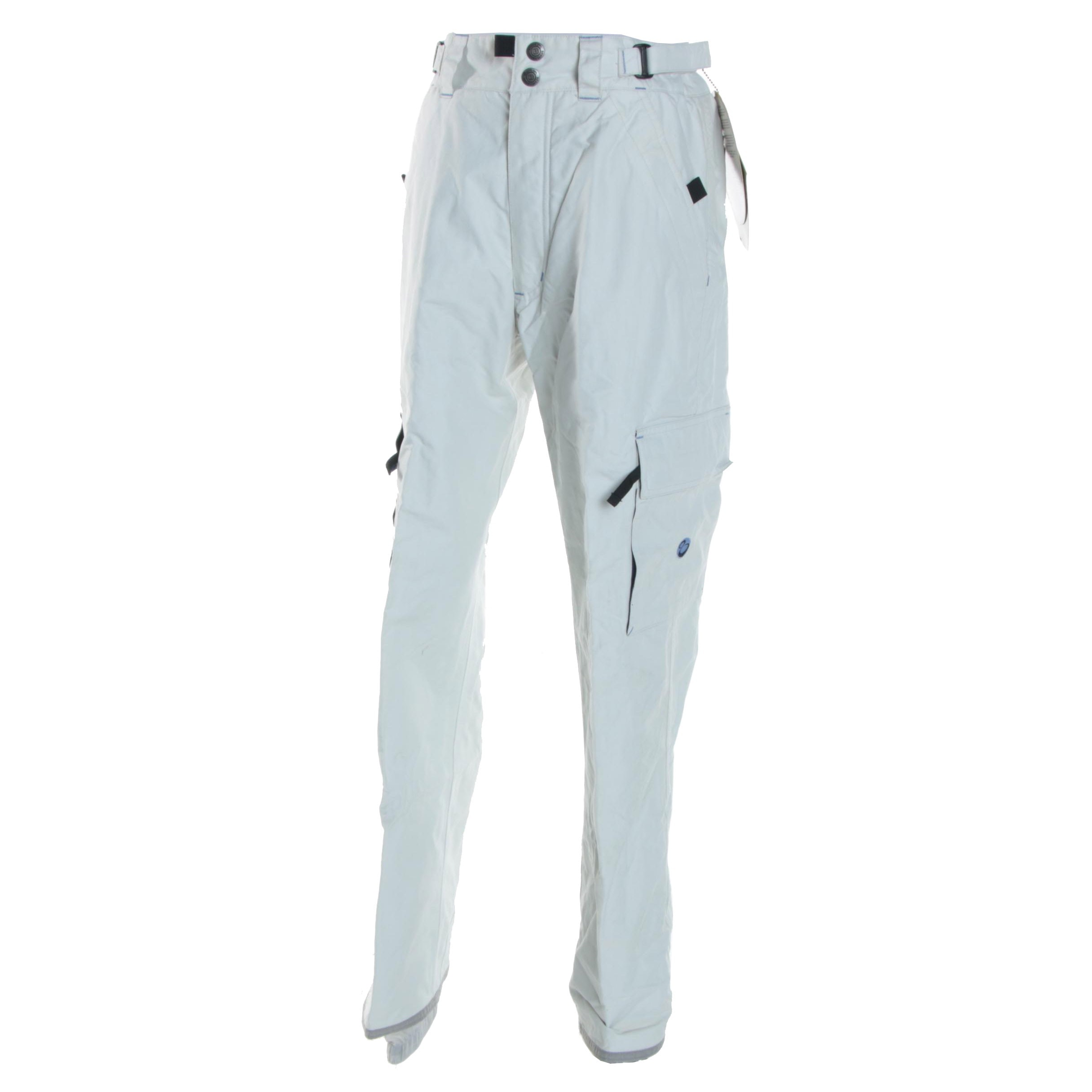 Women's Burton Bio-Lite White Snowboarding Cargo Pants
