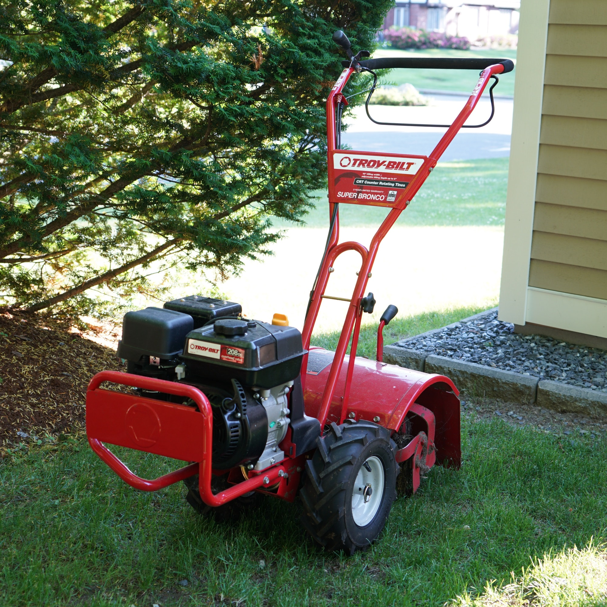 Attrayant Troy Bilt Super Bronco CRT Garden Rototiller ...