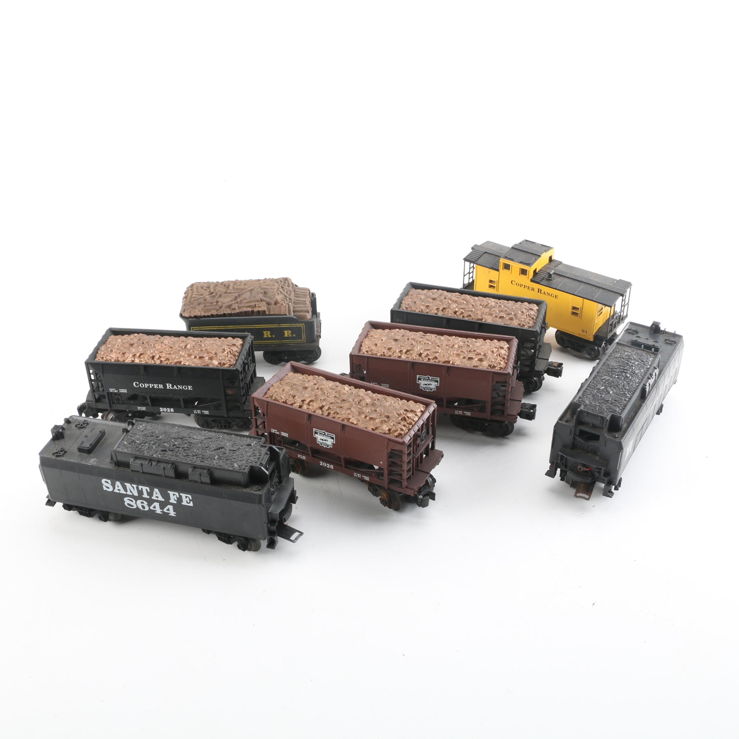 Lionel Copper Range and Other Train Cars