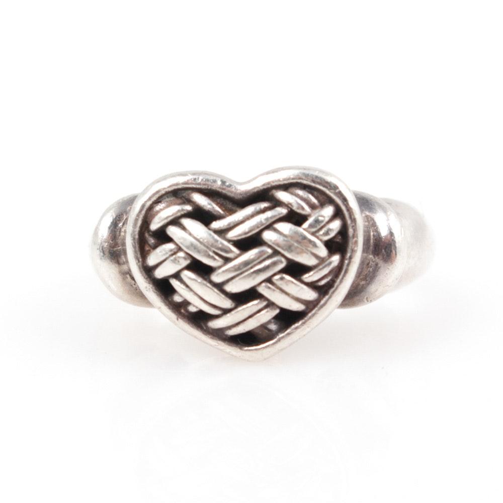 Brighton Sterling Silver Heart Ring