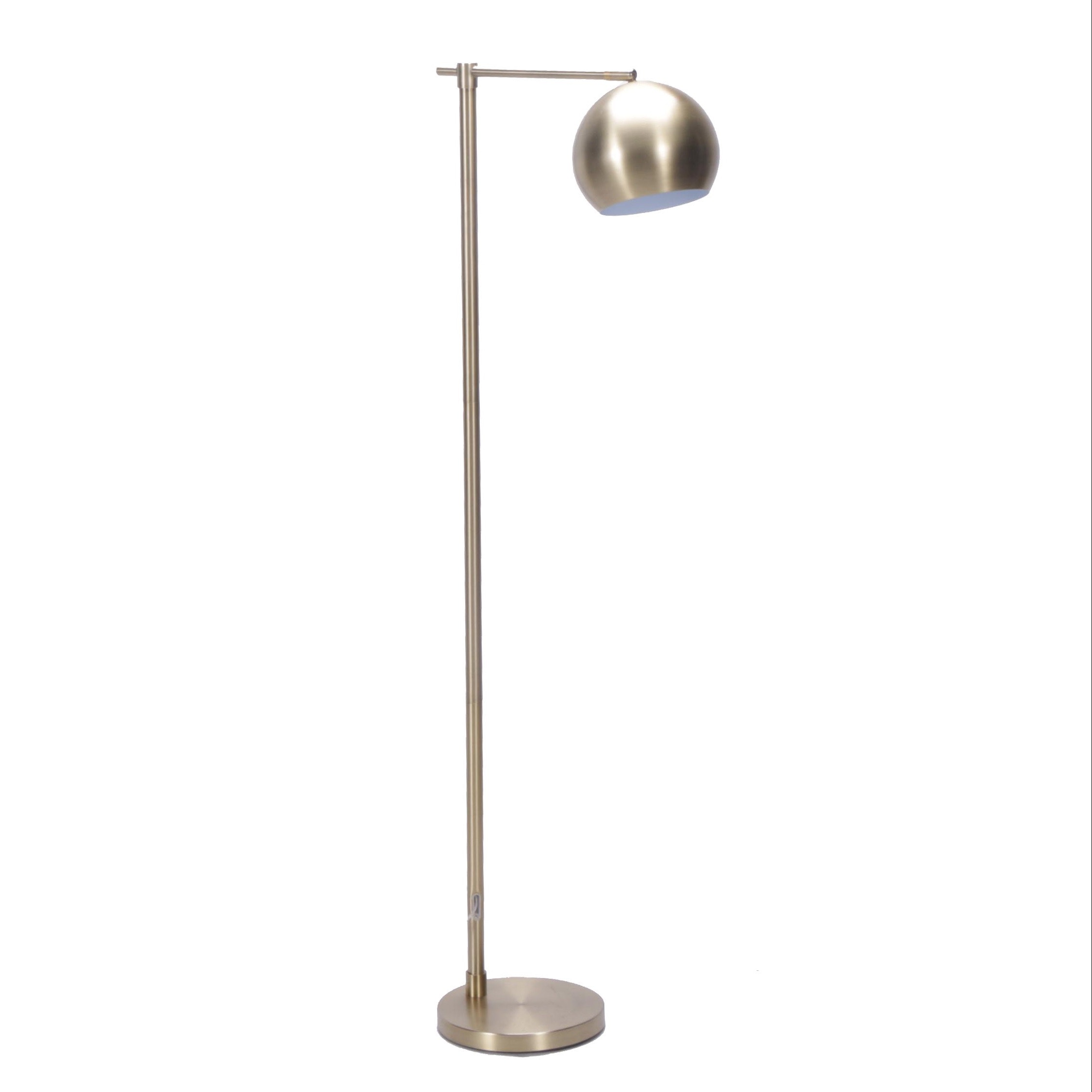 Hextra Gold Tone Stainless Steel Modern Style Floor Lamp