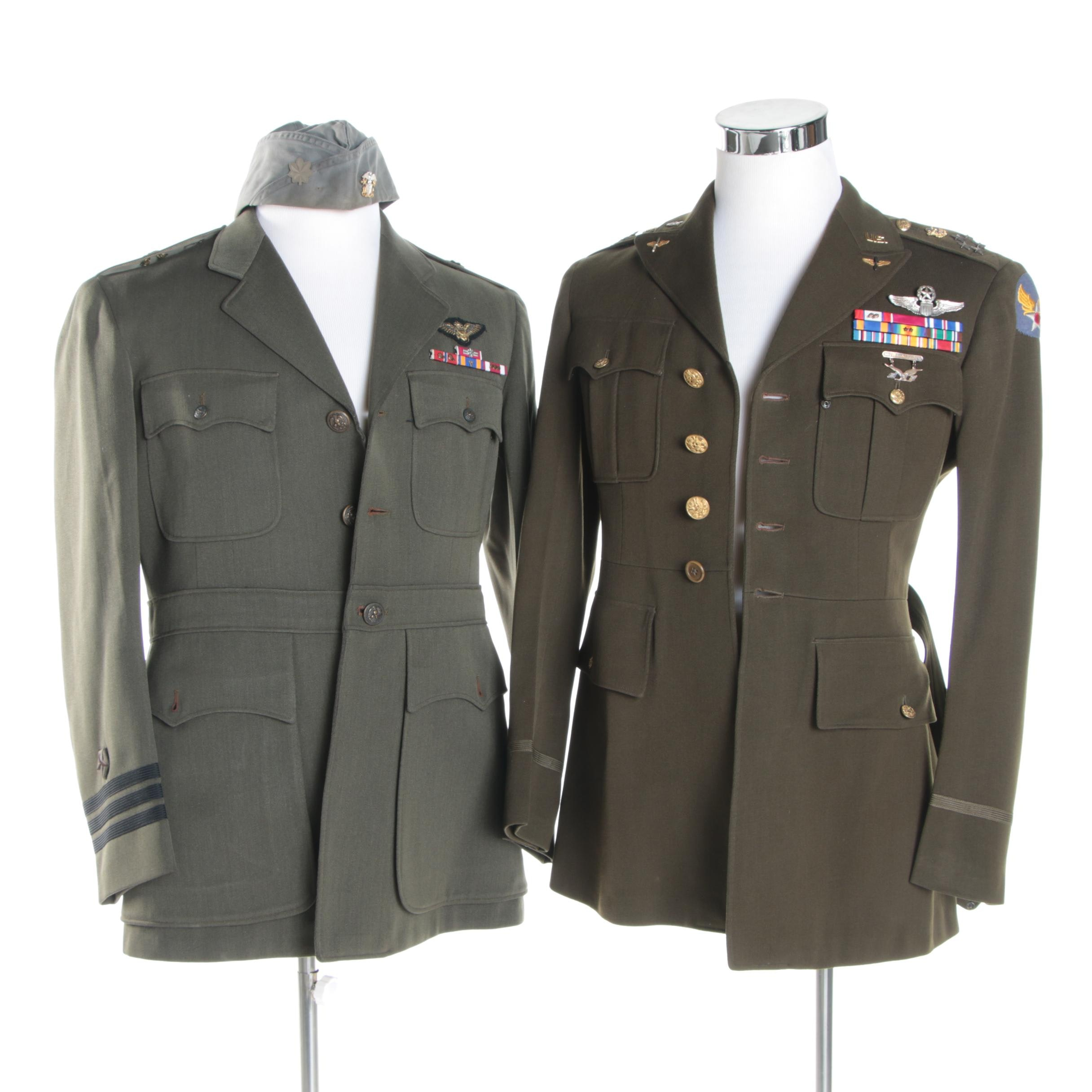 """Vintage Replica Henry """"Hap"""" Arnold Army General Jacket and Other Naval Jacket"""