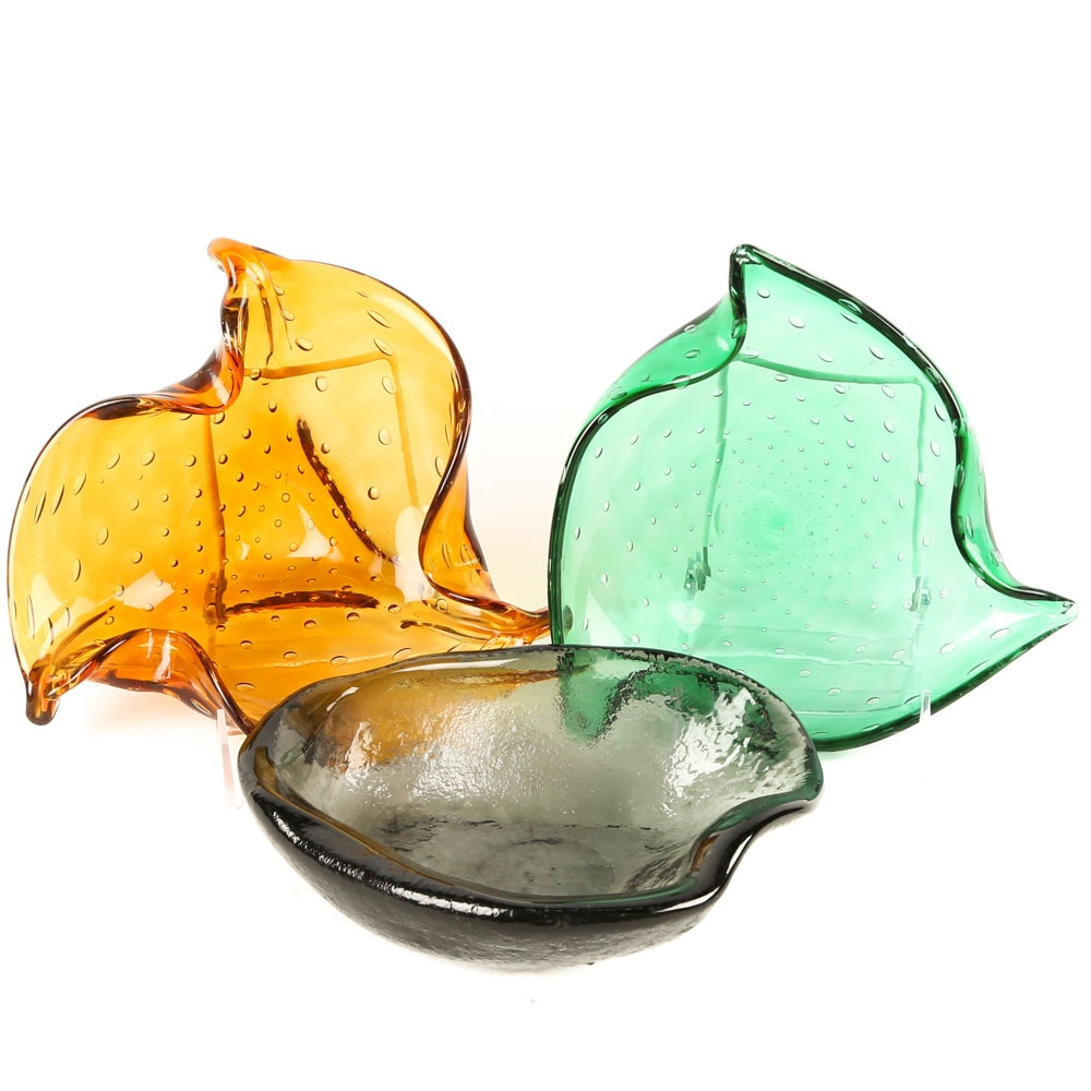 Art Glass Cocktail Bowls