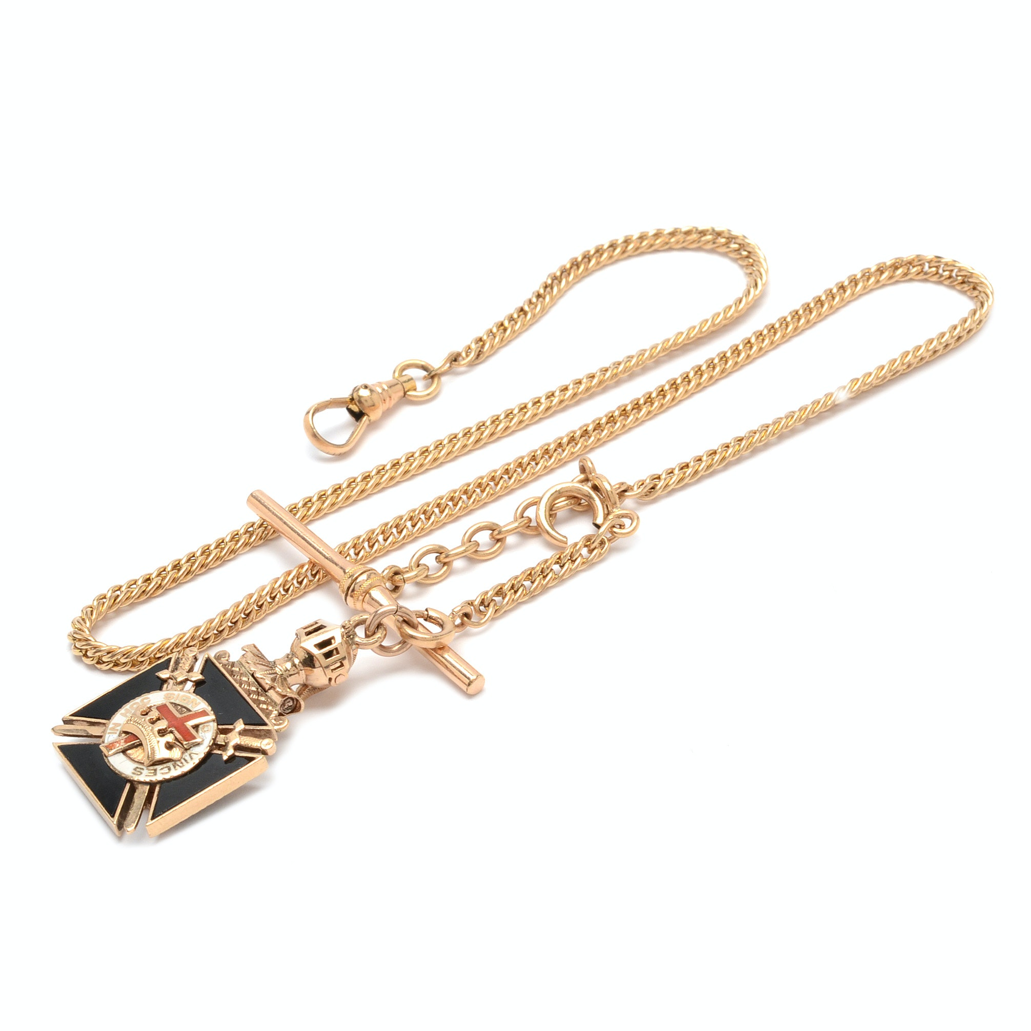 Decorative Gold Filled Watch Chain