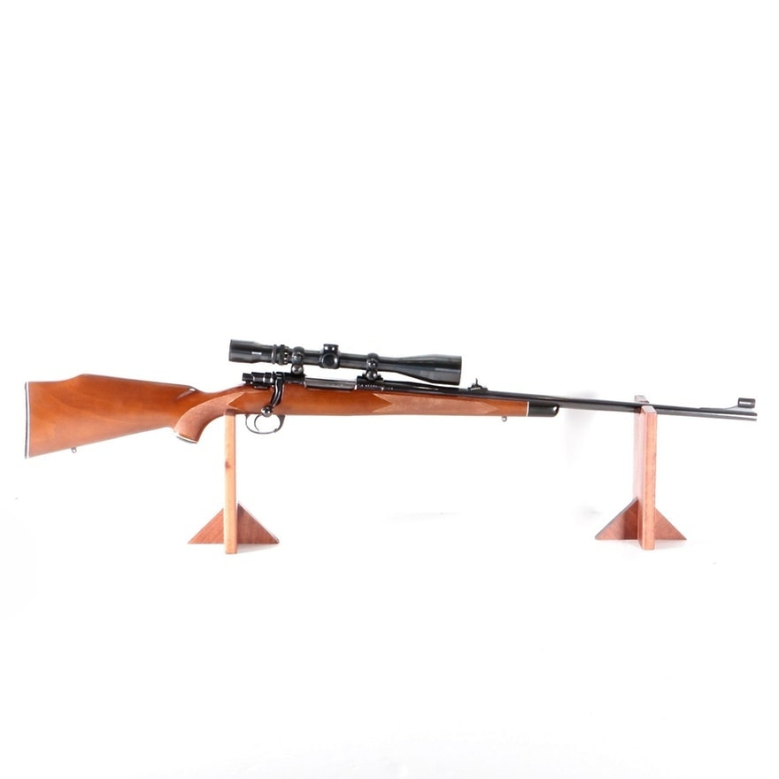 Interarms Mark X .243 Winchester Bolt Action Rifle With Weaver MicroTrac Scope