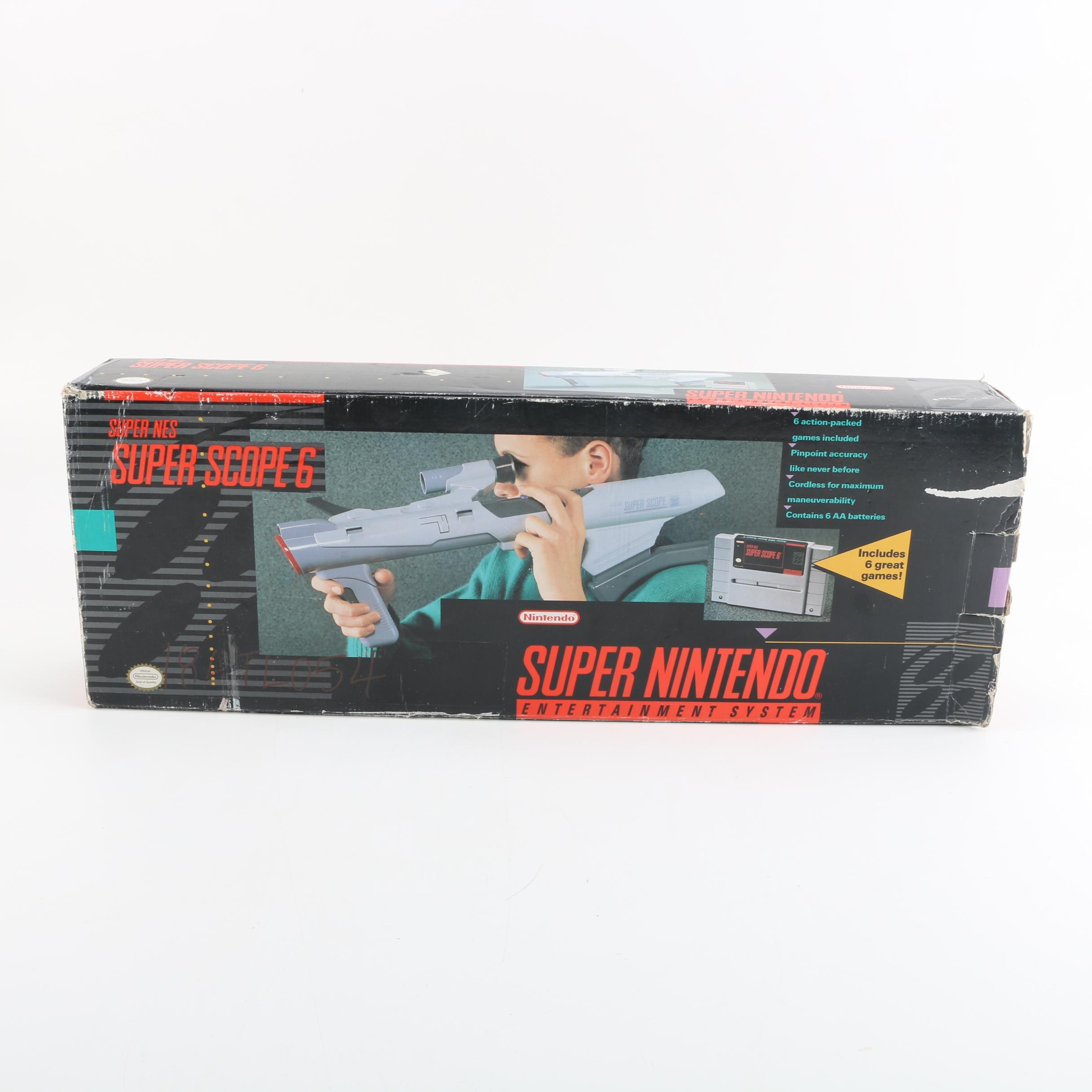 Super Nintendo Super Scope 6