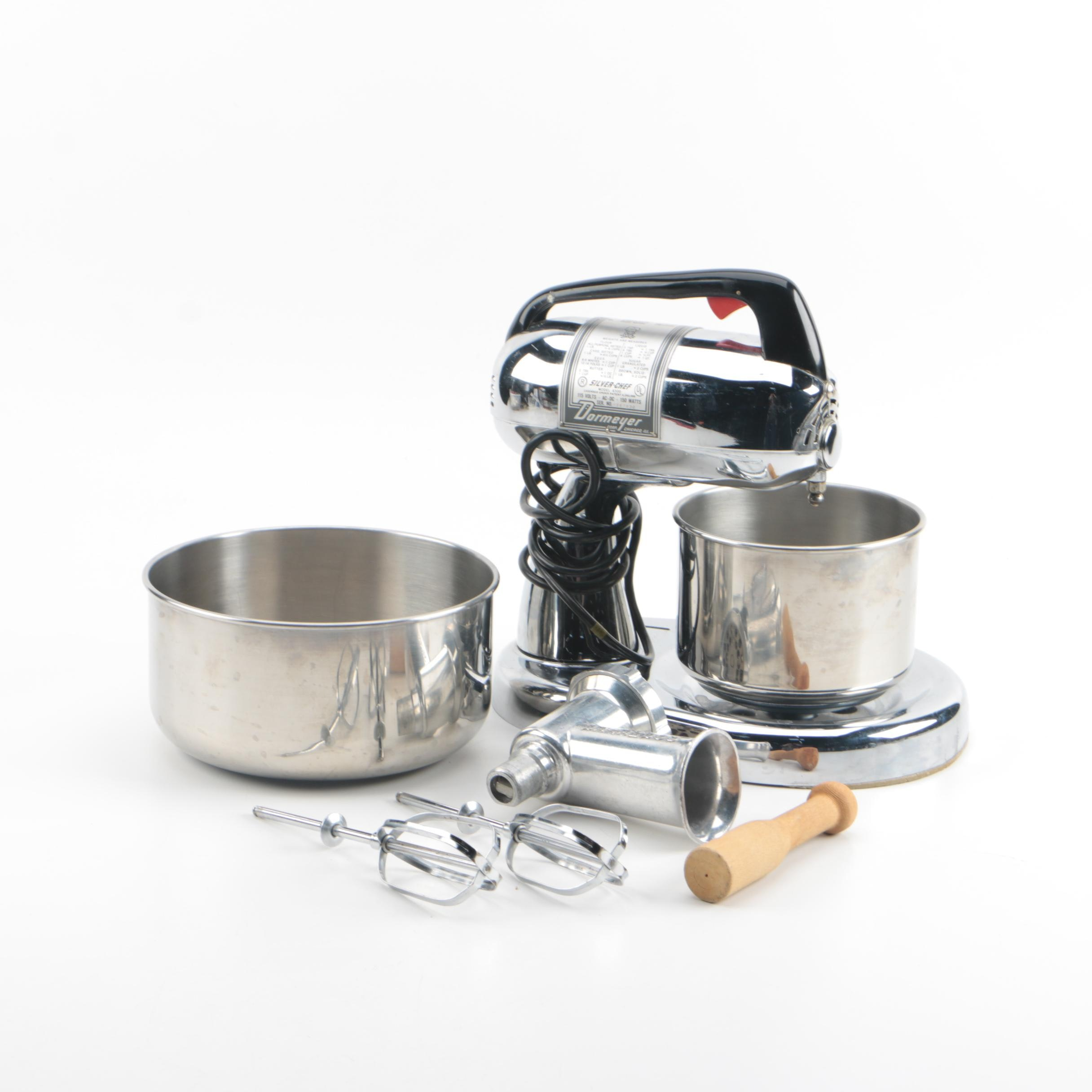 """Dormeyer """"Silver-Chef"""" Electric Mixer with Accessories"""