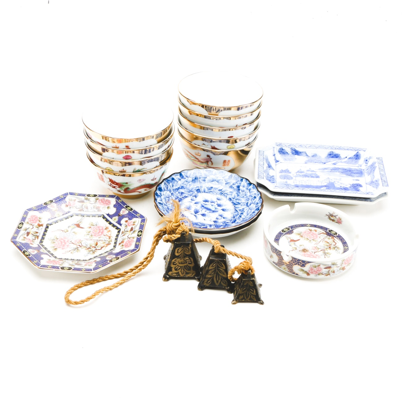 East Asian Decorated Bowls and Plates