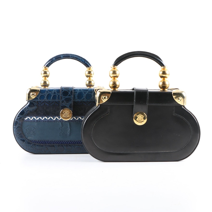 bf98d9c7298e Gabbrielli Firenze Leather Box Bags | EBTH