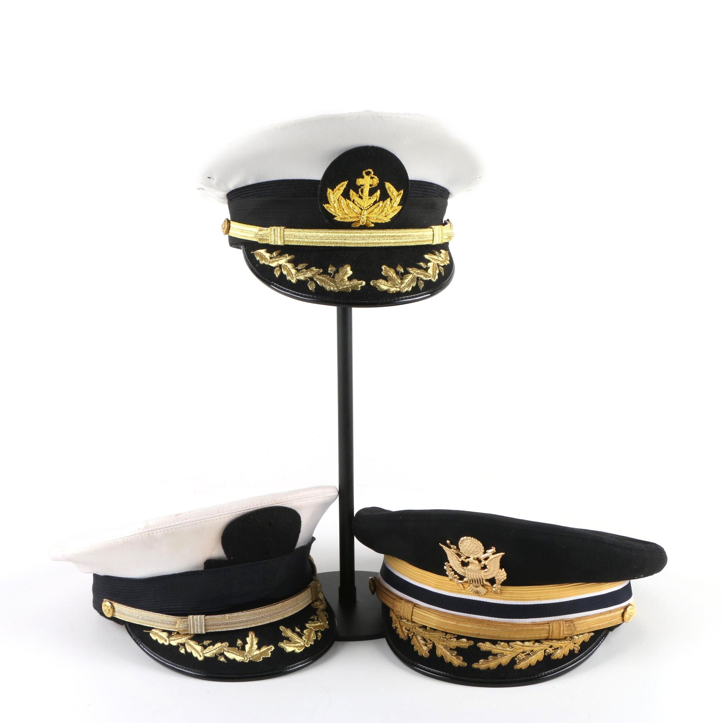 Men's Bancroft and Berkshire Deluxe Vintage U.S. Navy Hats
