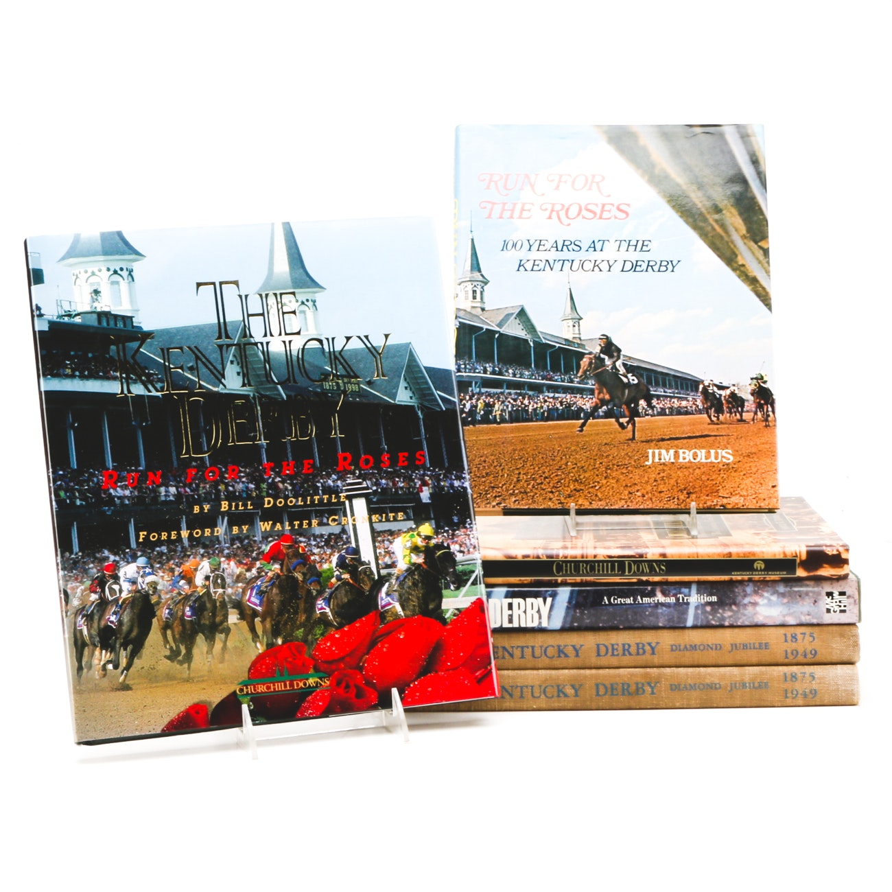Kentucky Derby Books From Cawood Ledford Estate