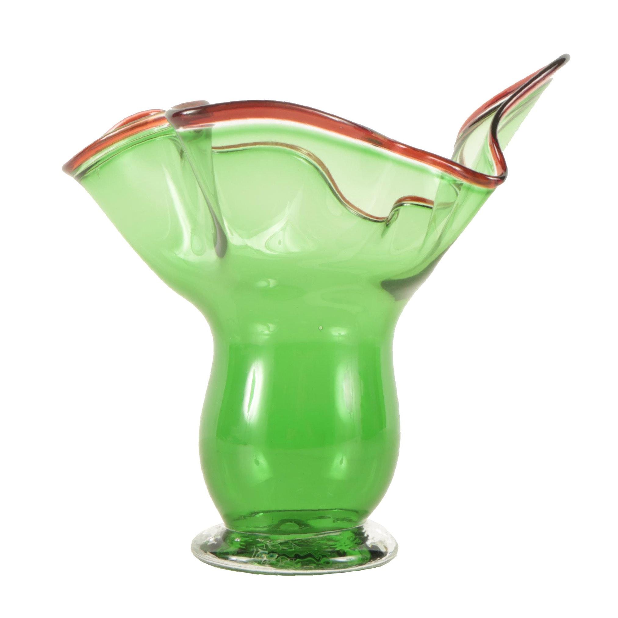 Parry 20th Century Art Glass Vase