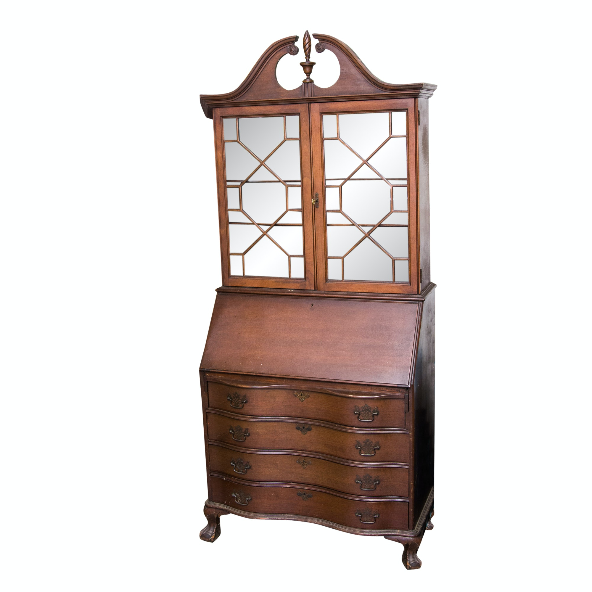 Chippendale Style Secretary Desk