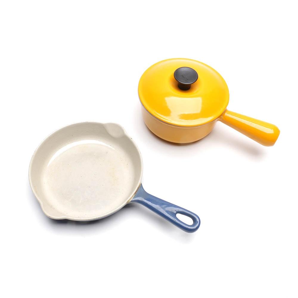 Le Creuset Pot & Pan