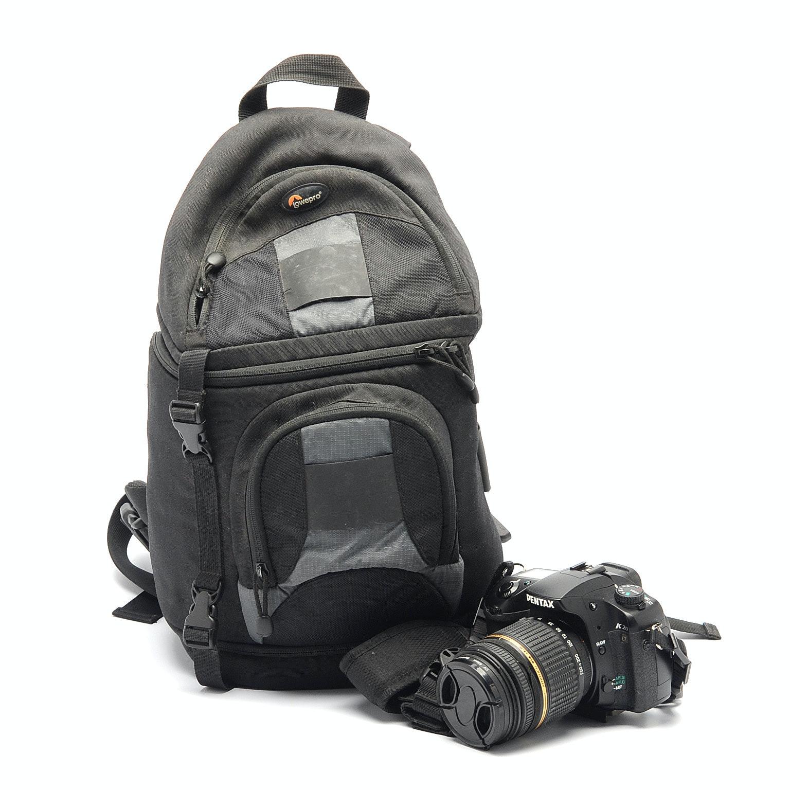 Pentax K20D Camera