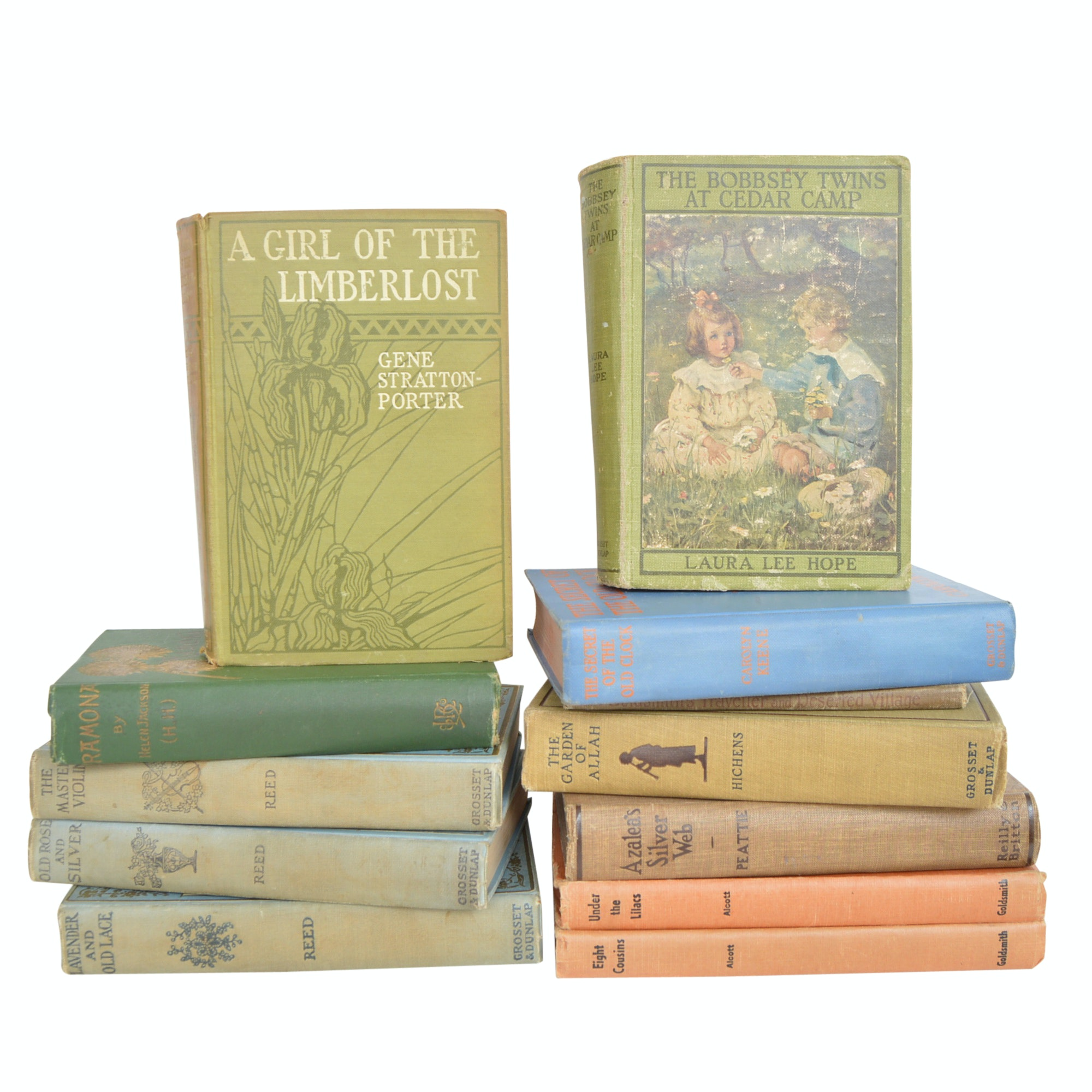 Collection of Vintage Books with First Editions