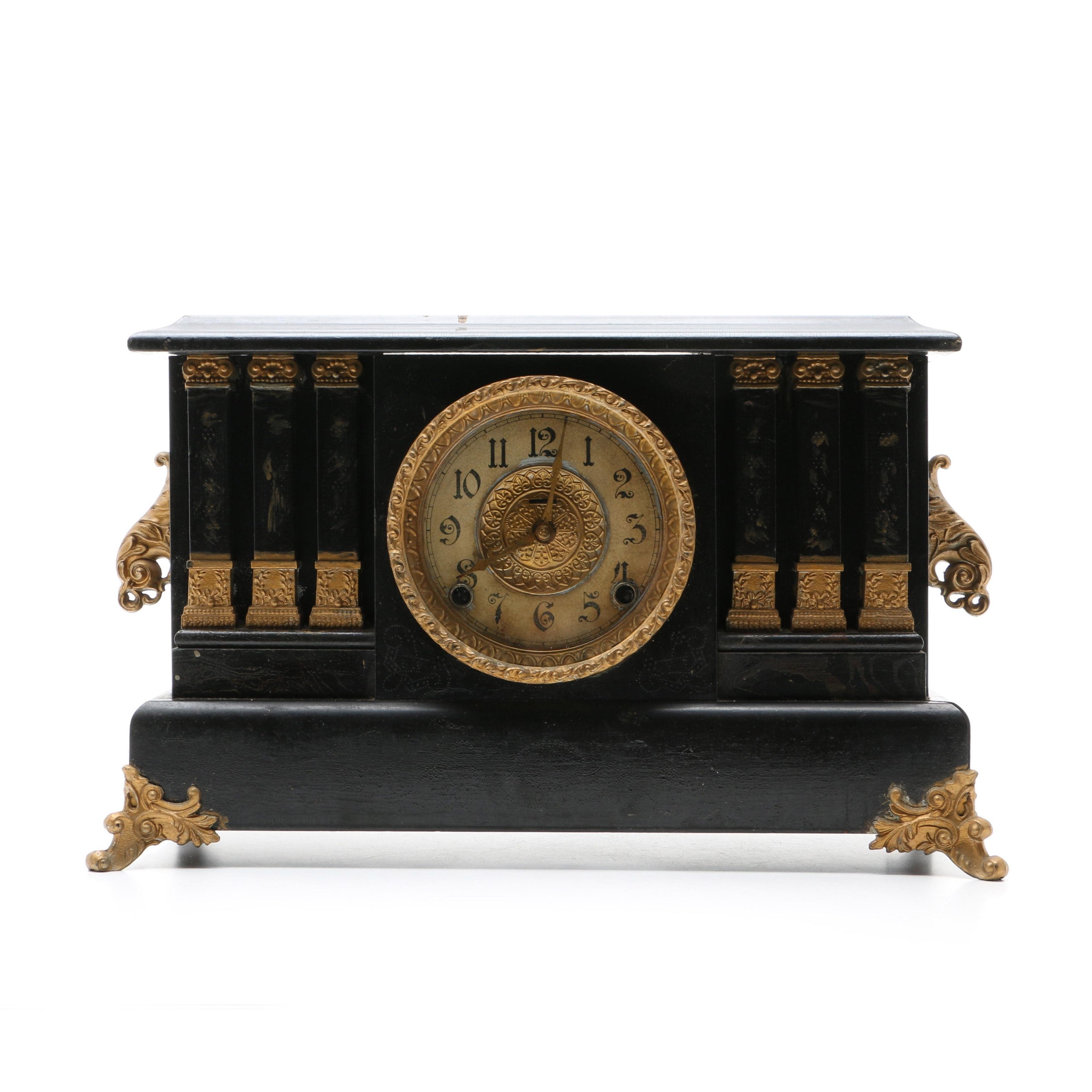 Early 20th Century Ingram Co. Mantel Clock