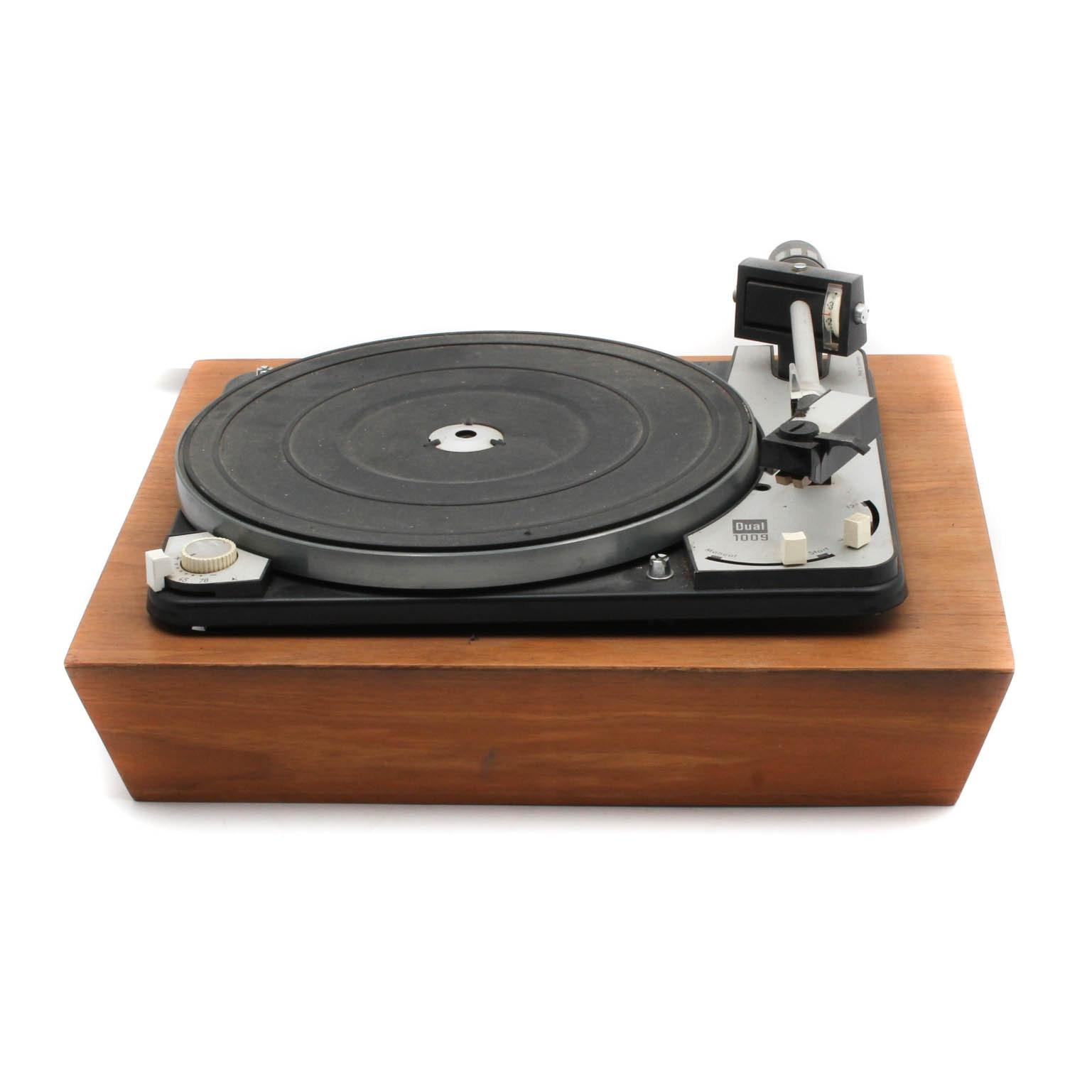 Vintage Dual 1009 Turntable