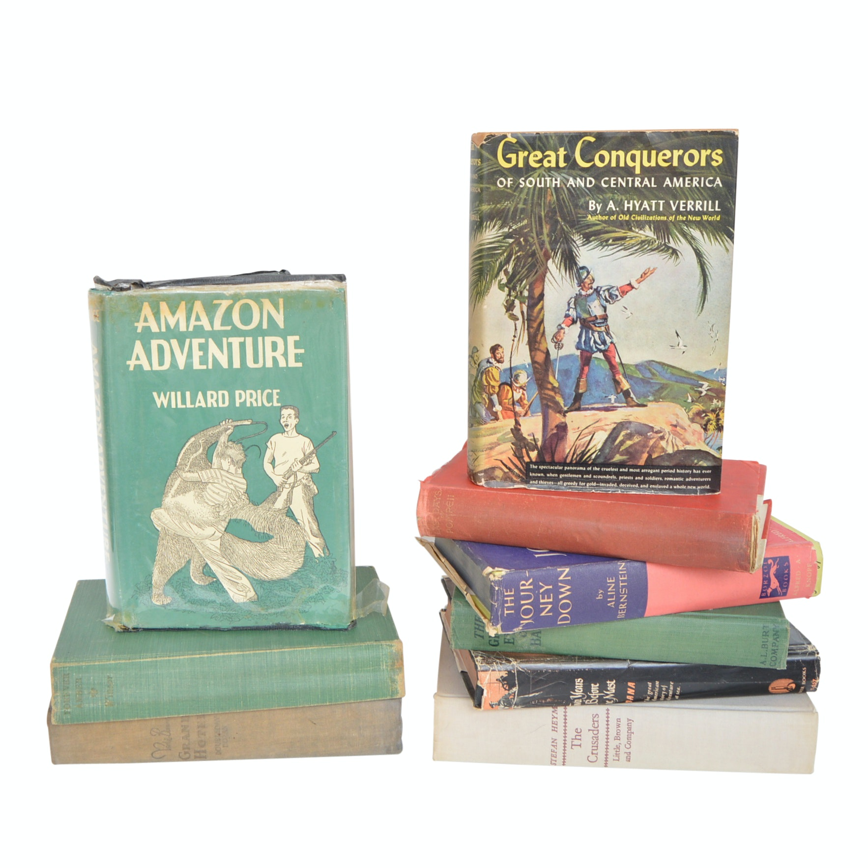 Vintage Adventure Books