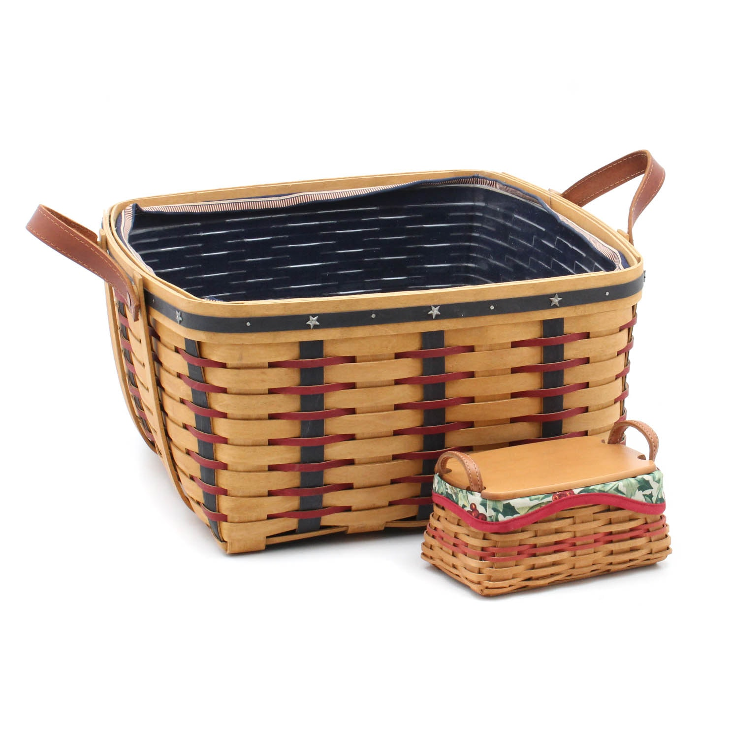 2003 Patriotic and Christmas Longaberger Baskets
