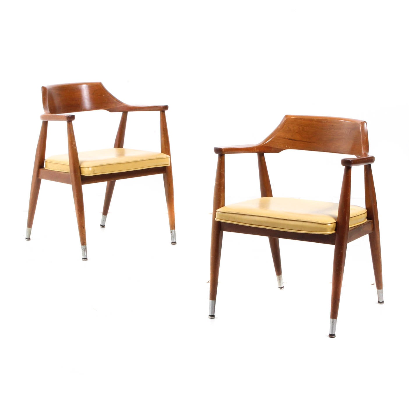 Pair of Mid Century Modern Armchairs by Jasper Chair Co.