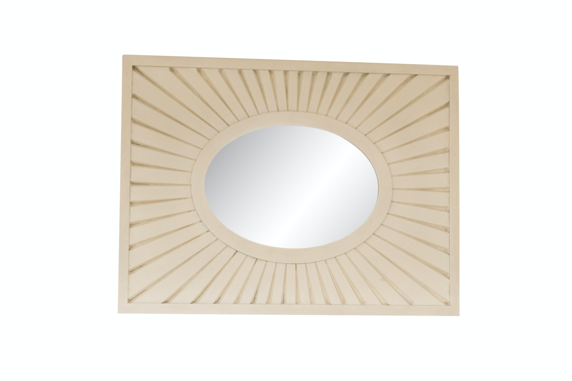 Wooden Wall Mirror