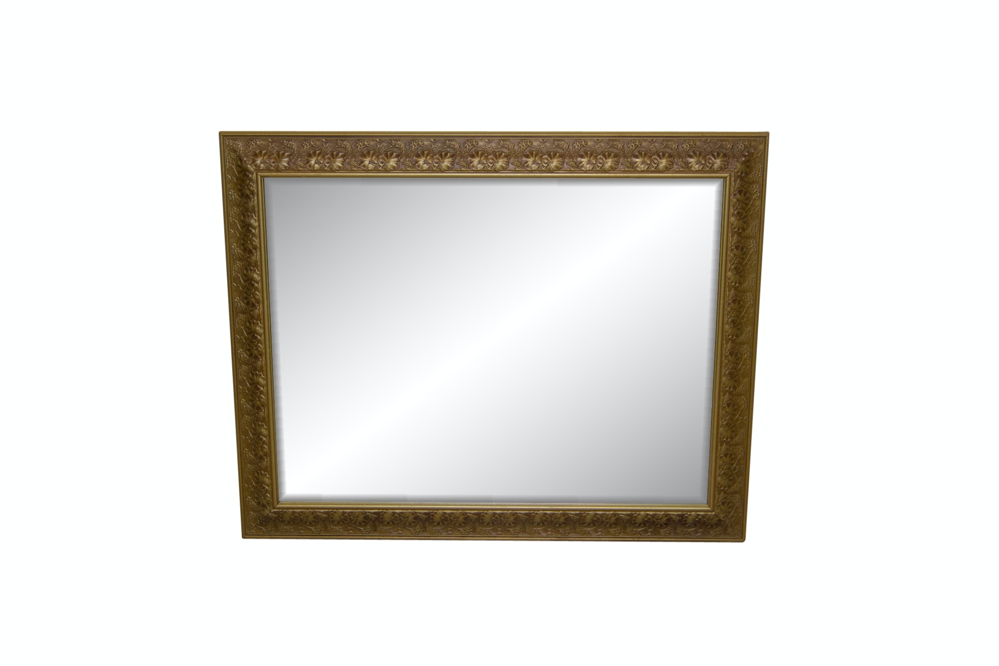 Gold Painted Wall Mirror
