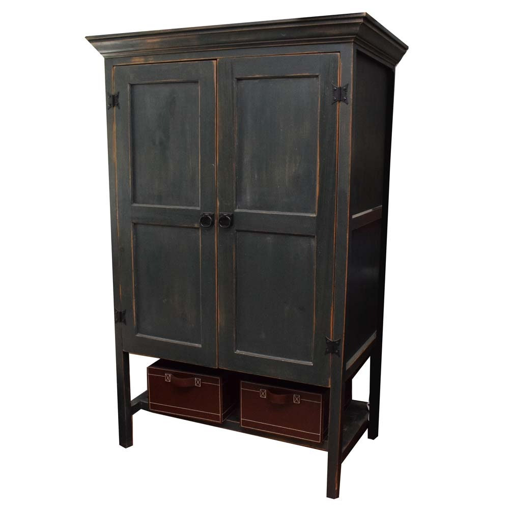 Painted Linen Cabinet ...