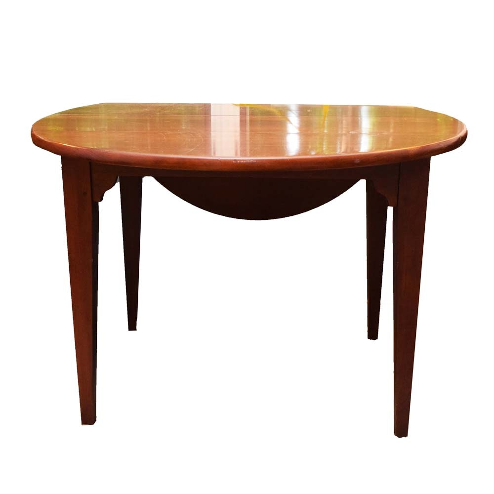 Vintage Lexington Cherry Dropleaf Dining Table