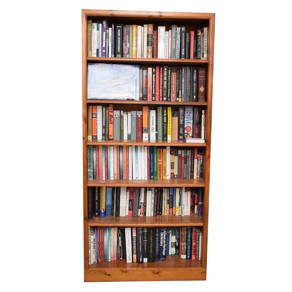 Finished Pine Bookcase
