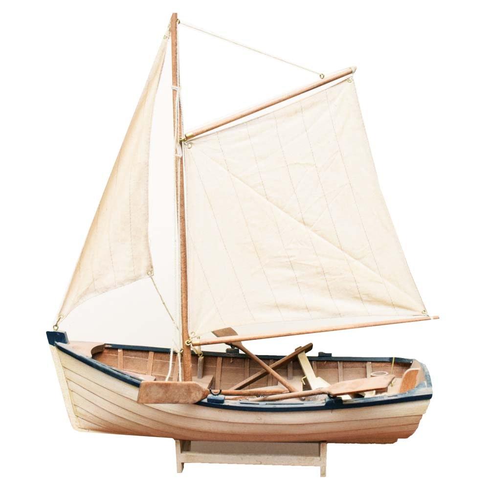 Balsa Wood Sailboat Model