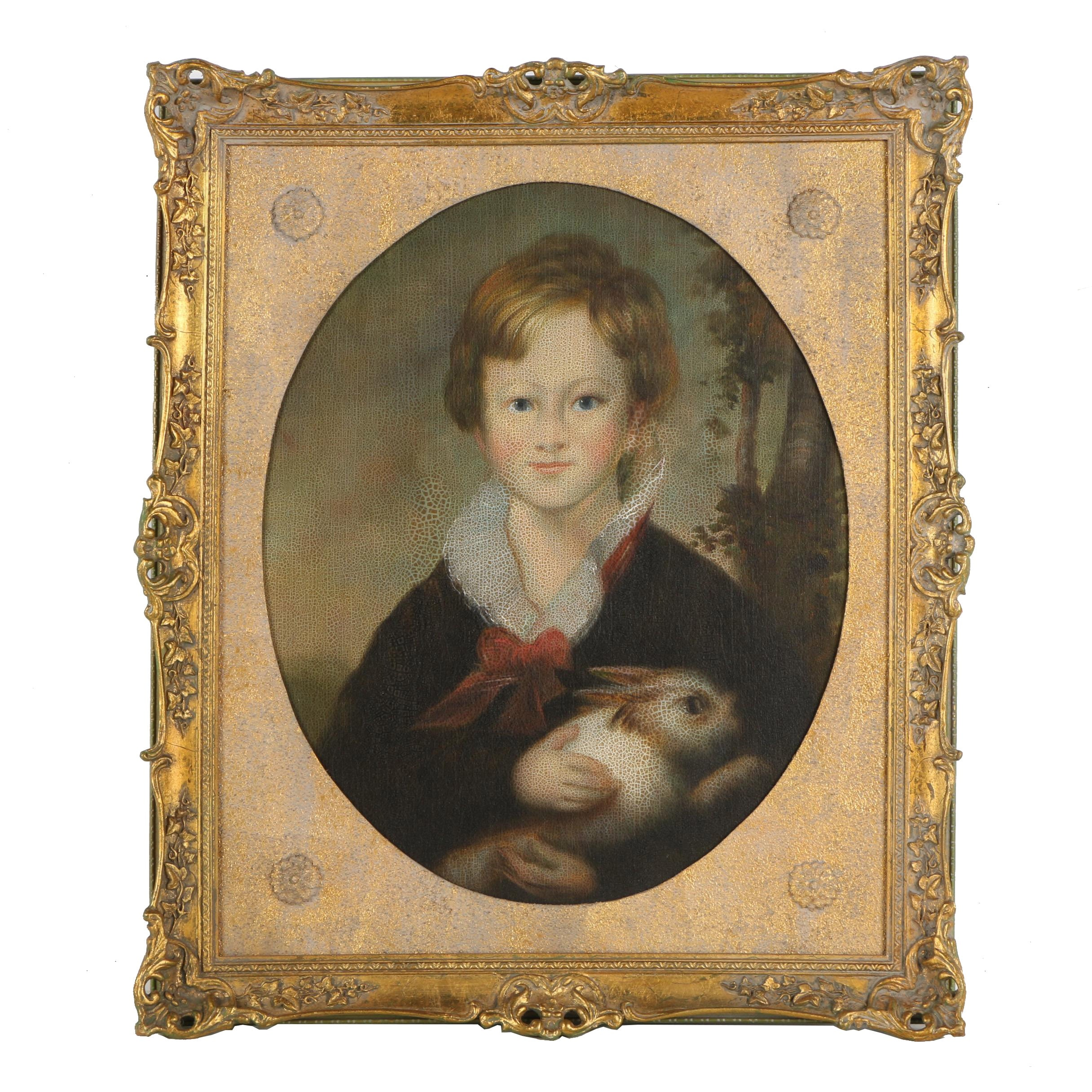 """Reproduction Oil Painting from Chelsea House """"Master Tennyson"""""""