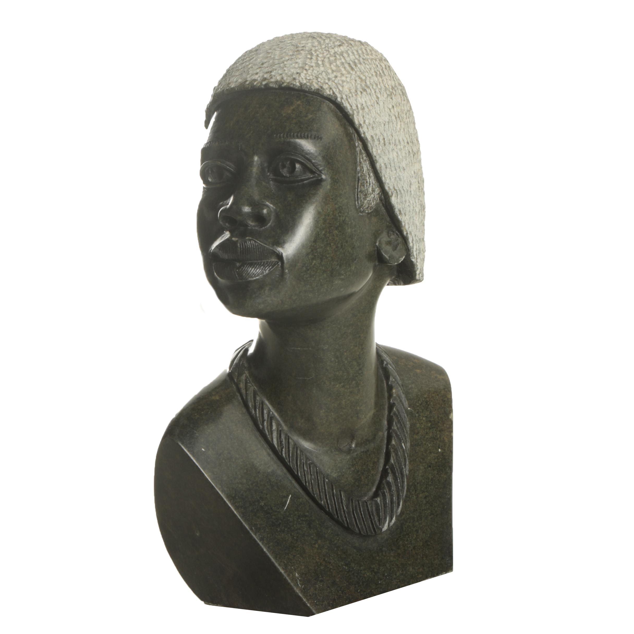 T. Medziso Shona Style Serpentine Carving