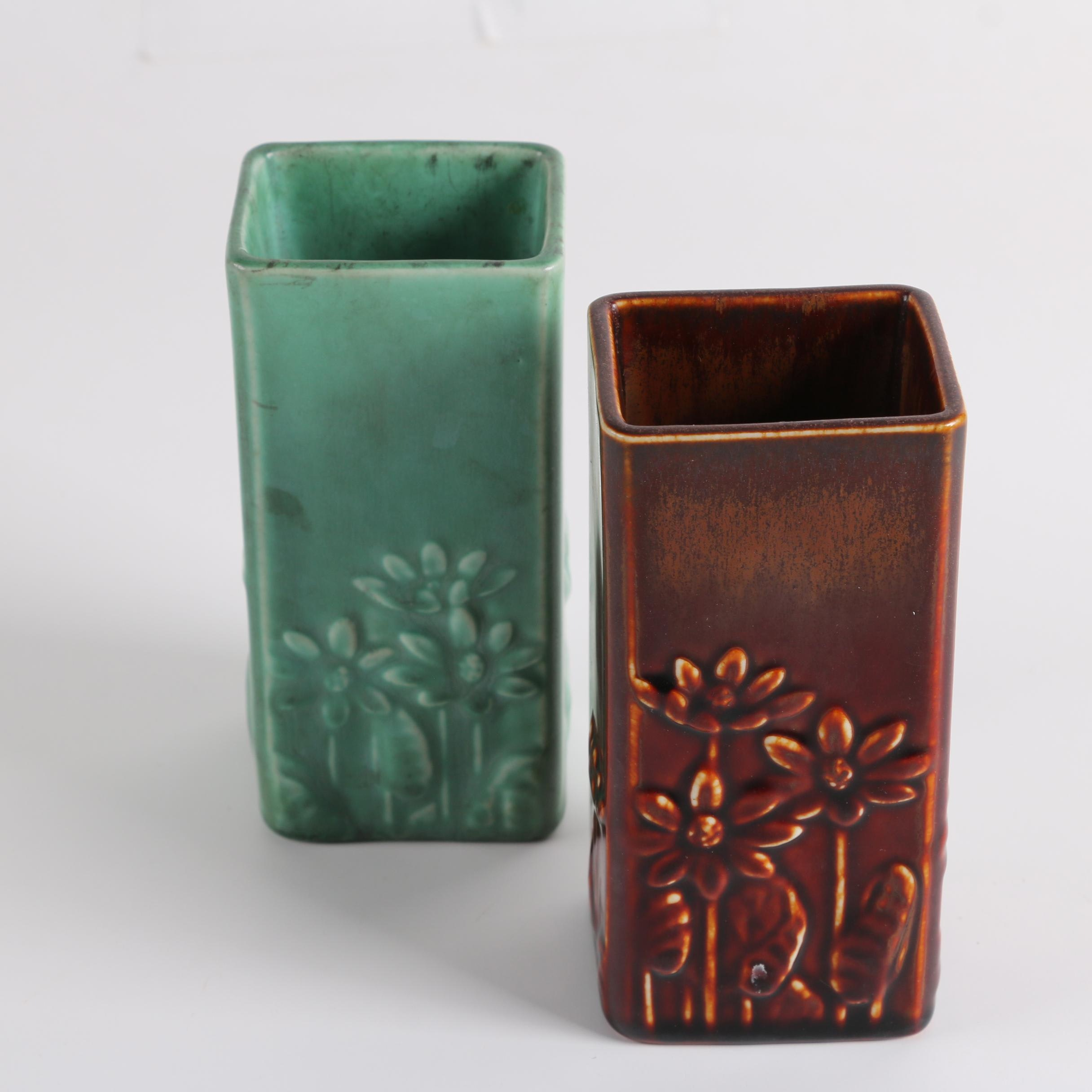 1937 Rookwood Pottery Vases