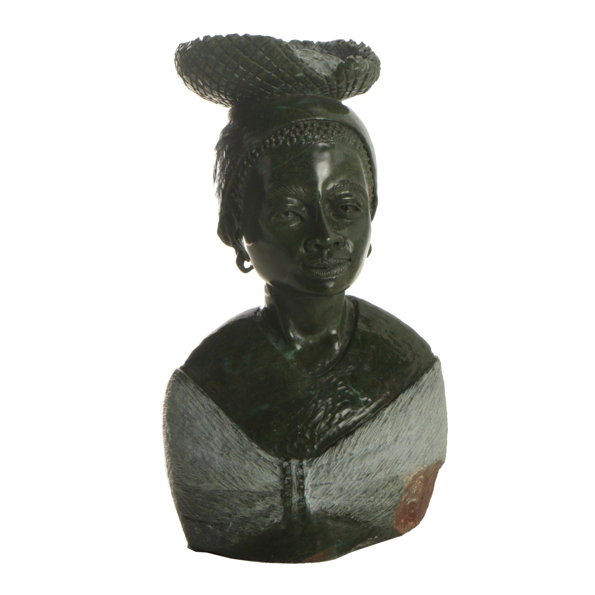 W. Shama Shona Style Serpentine Carving