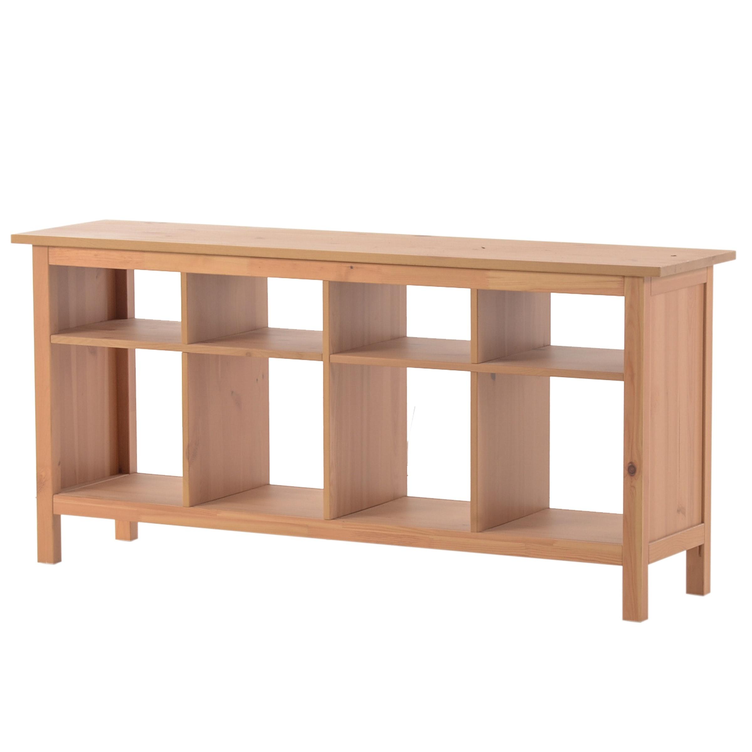 Pine Grained Laminate Shelf Unit