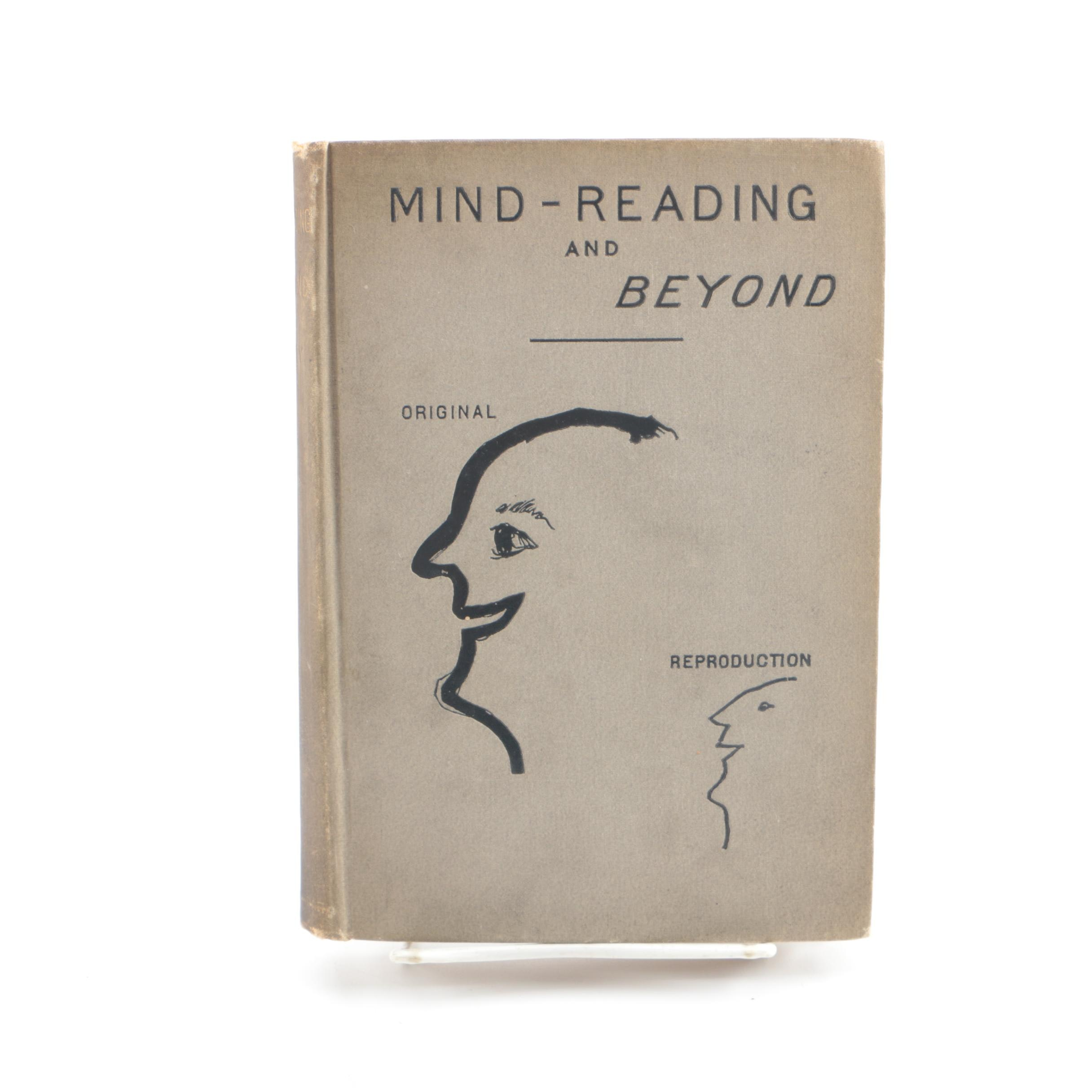"""1885 """"Mind-Reading and Beyond"""" by William A. Hovey"""