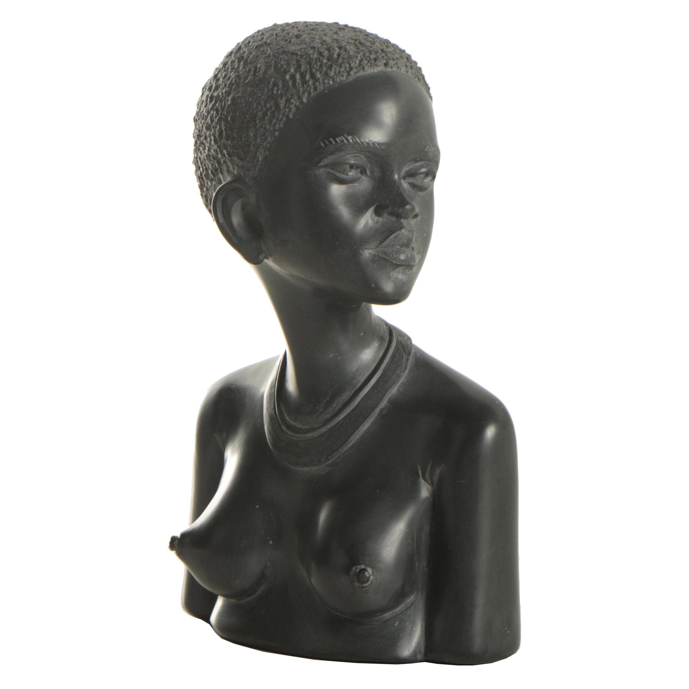 Casper Darare Shona Style Soapstone Sculpture